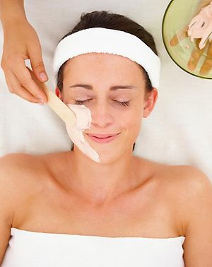 Treatments offered. Facial